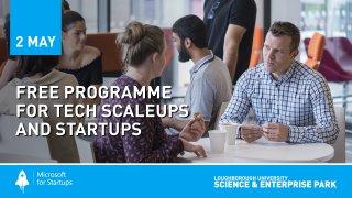 Microsoft start-up event