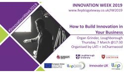 Innovation Week flyer